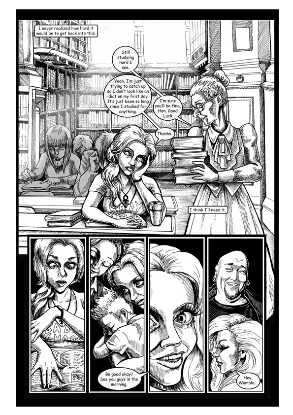City of Lost Souls Issue 2 Page 2