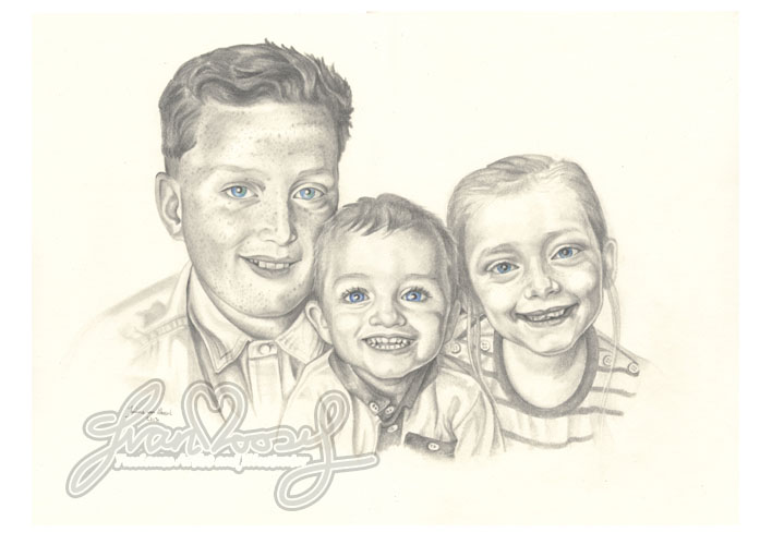 Portrait of 3 Children