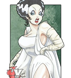 Jessica Bride of Frankenstein