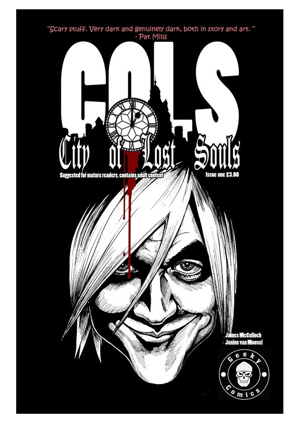 City of Lost Souls Issue 1 Cover