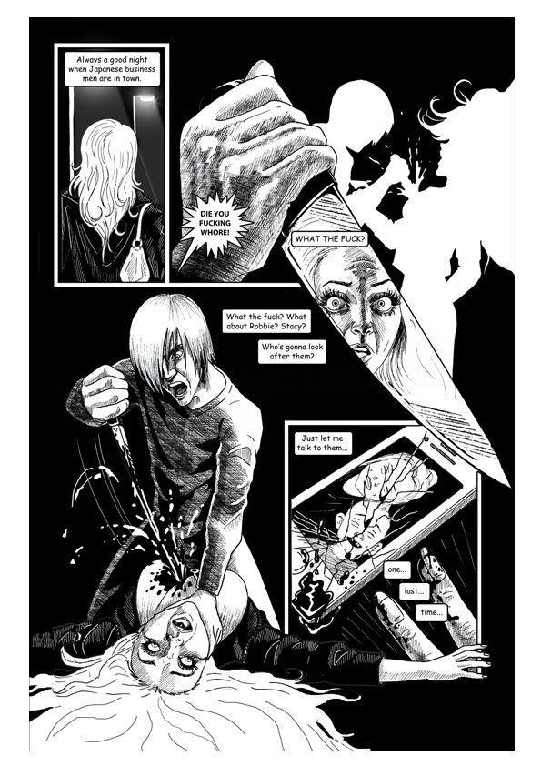City of Lost Souls Issue 2 Page 4