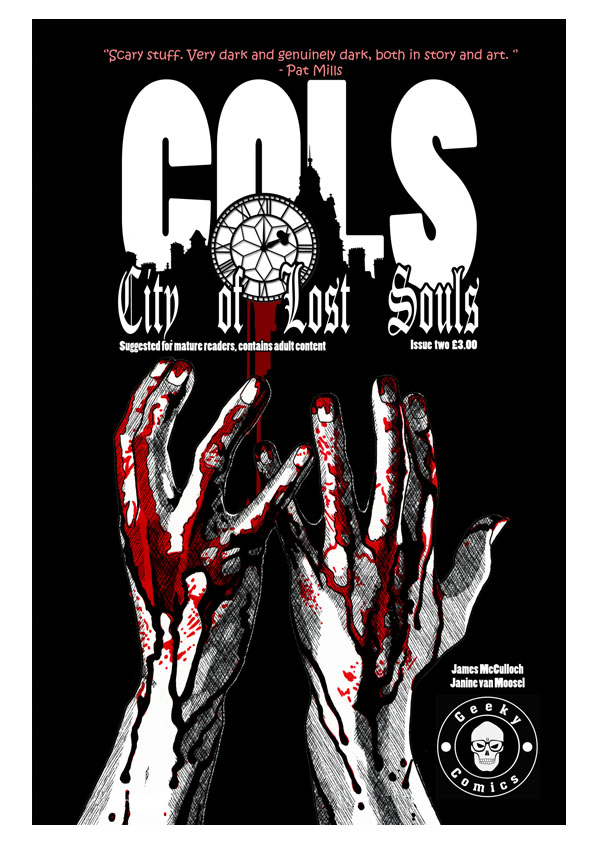 City of Lost Souls Issue 2 Cover