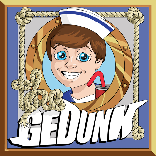 Gedunk Shop Sign